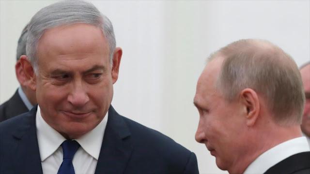 """""""Netanyahu quizá use contra Irán sanciones de EEUU a Rusia"""""""