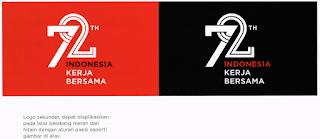 gambar 3 Logo Resmi Hut Ri ke 72