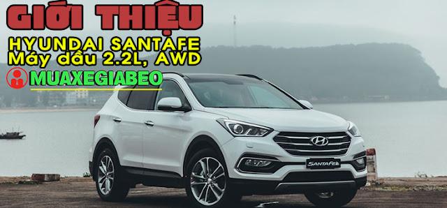 Giới thiệu Hyundai SantaFe 2.2L máy dầu phiên bản đặc biệt AWD ảnh 1