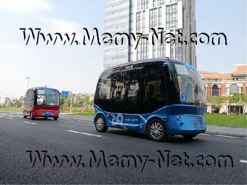 عملاق التكنولوجيا الصيني يطلق مركباته ذاتية القيادة Apolong