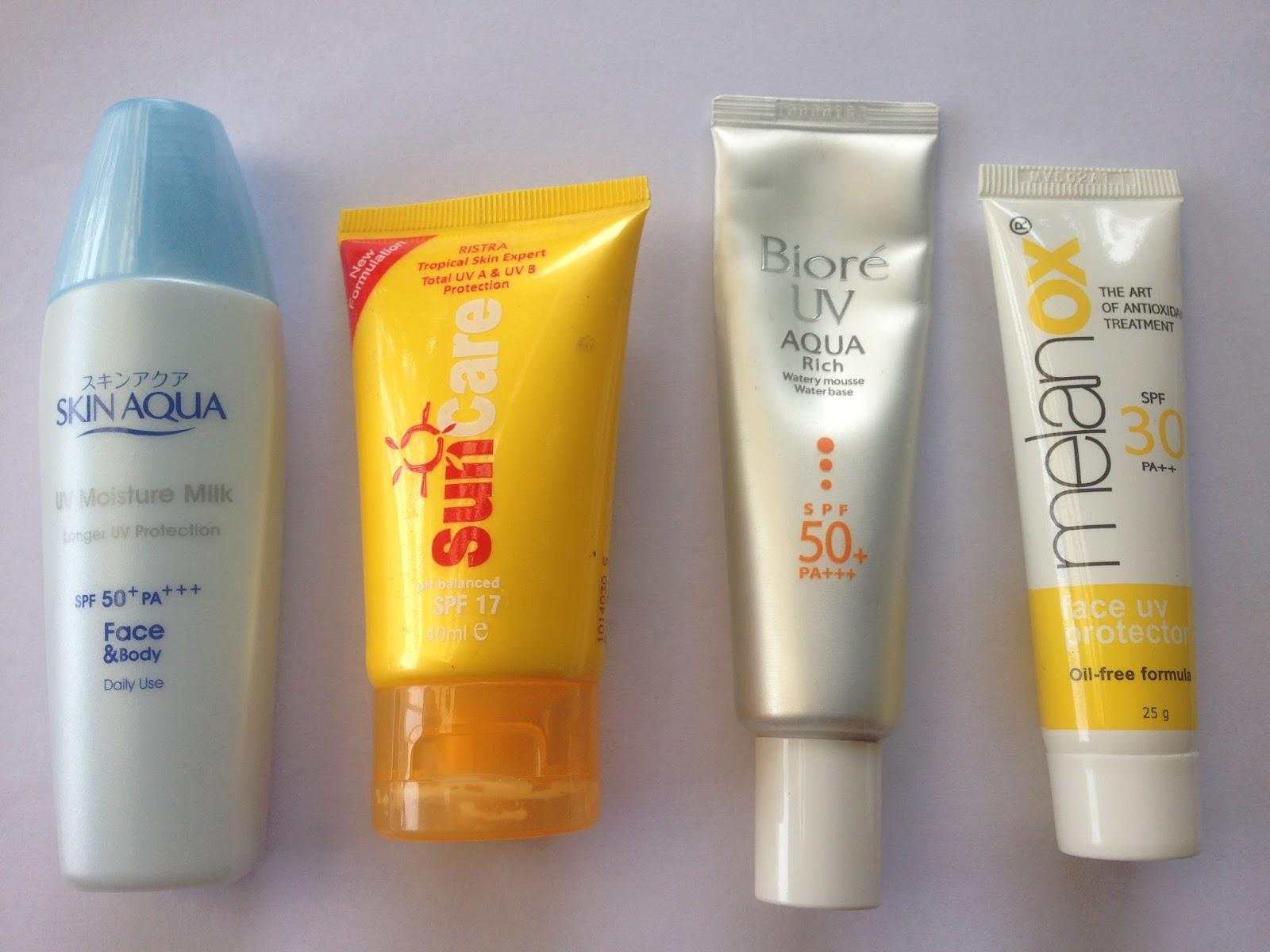 Melanox Face Uv Protector Spf 30 Pa 25g Update Daftar Harga Skin Aqua Moisture Gel 40g From Left To Right Milk 50 Ristra Suncare