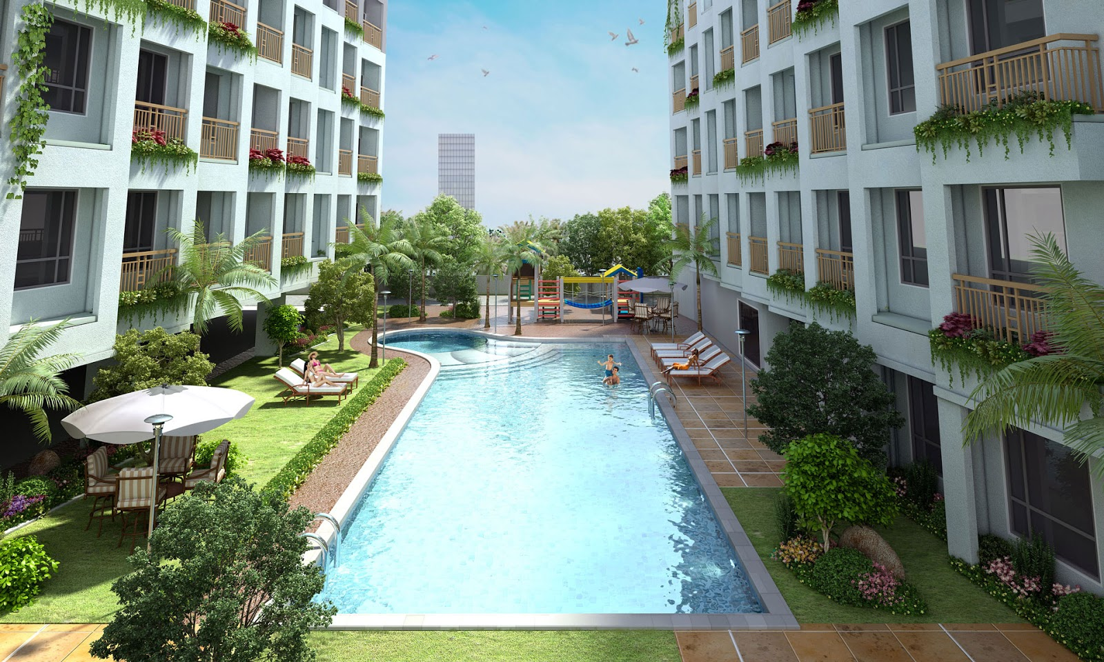 Affordable property listing of the philippines four for Pool design philippines