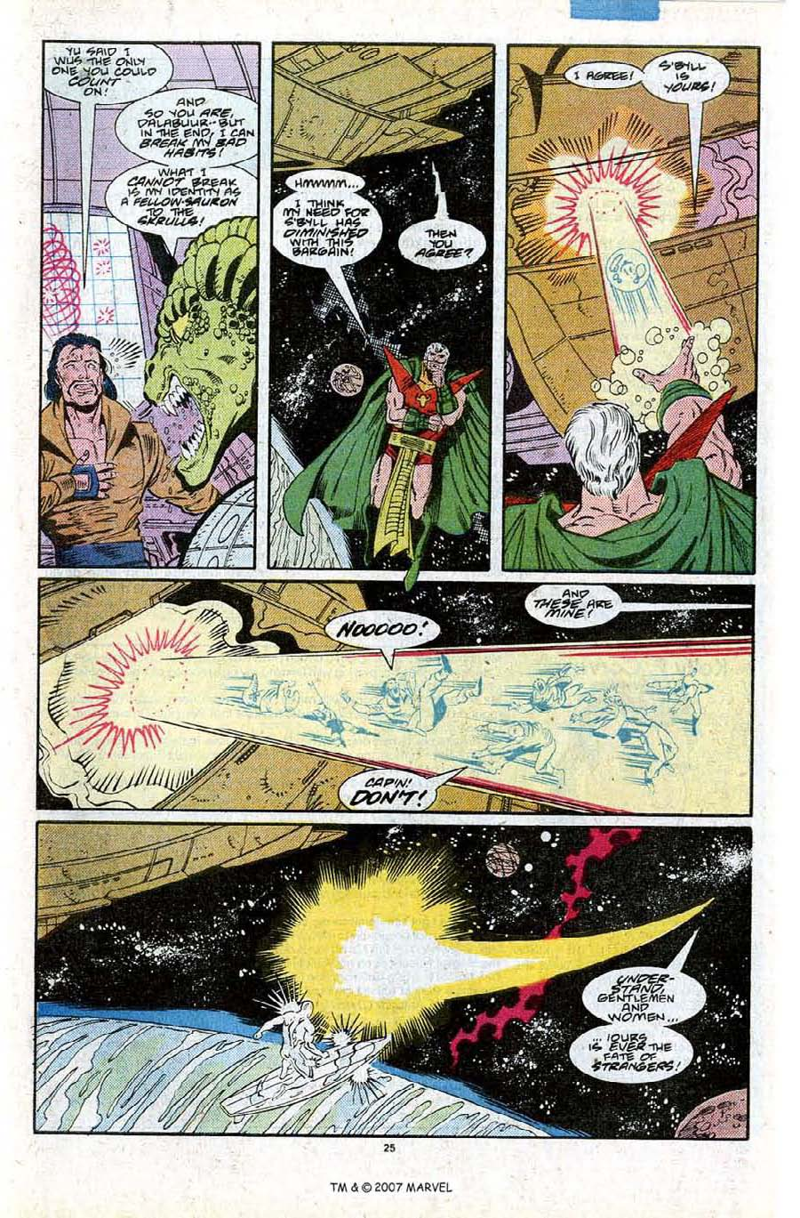 Read online Silver Surfer (1987) comic -  Issue #27 - 27