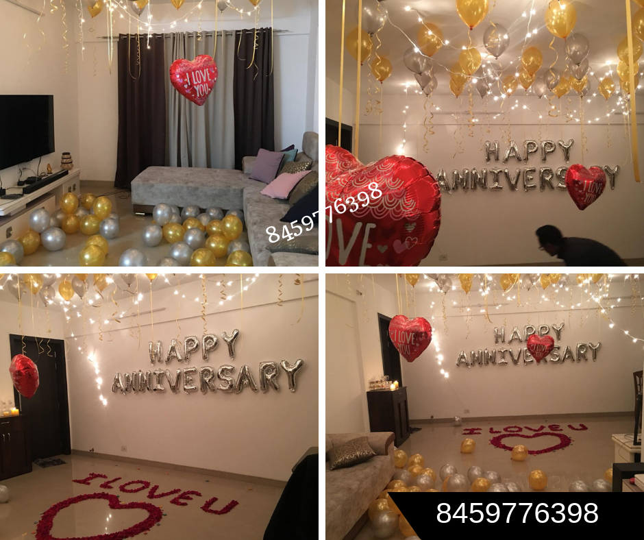 Best Birthday Party Planner Birthday Decorator How To Decorate A Room For Husband Birthday Romantic Room Decoration