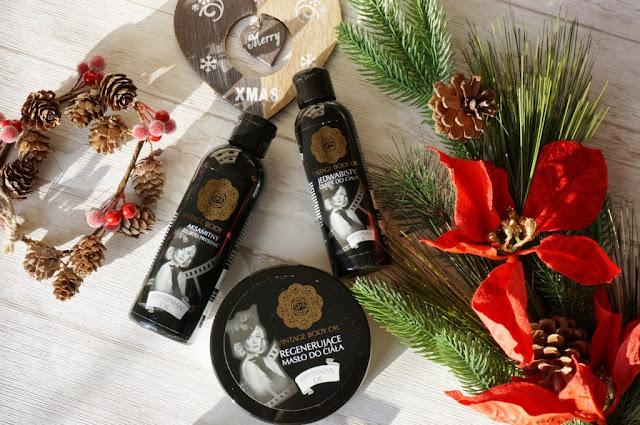 Zestaw SPA z olejem abisyńskim Vintage Body Oil - propozycja na świąteczny prezent