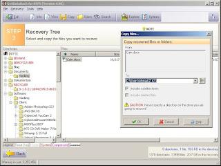 File berhasil dikembalikan oleh GetDataBack