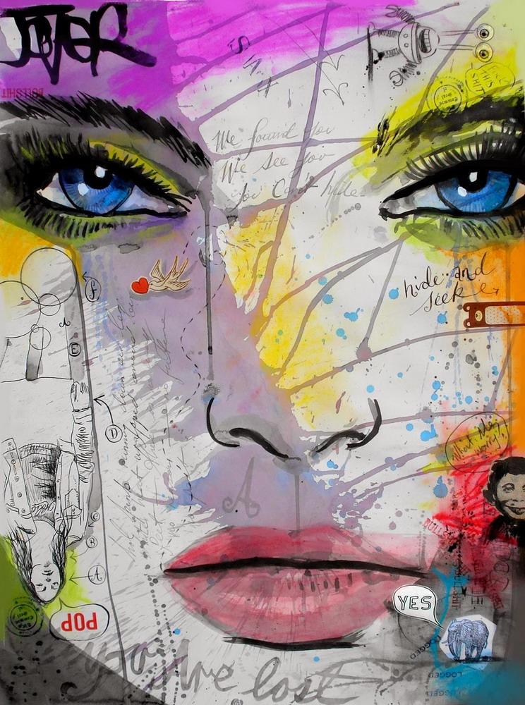 Im genes arte pinturas for Cuadros coloridos modernos