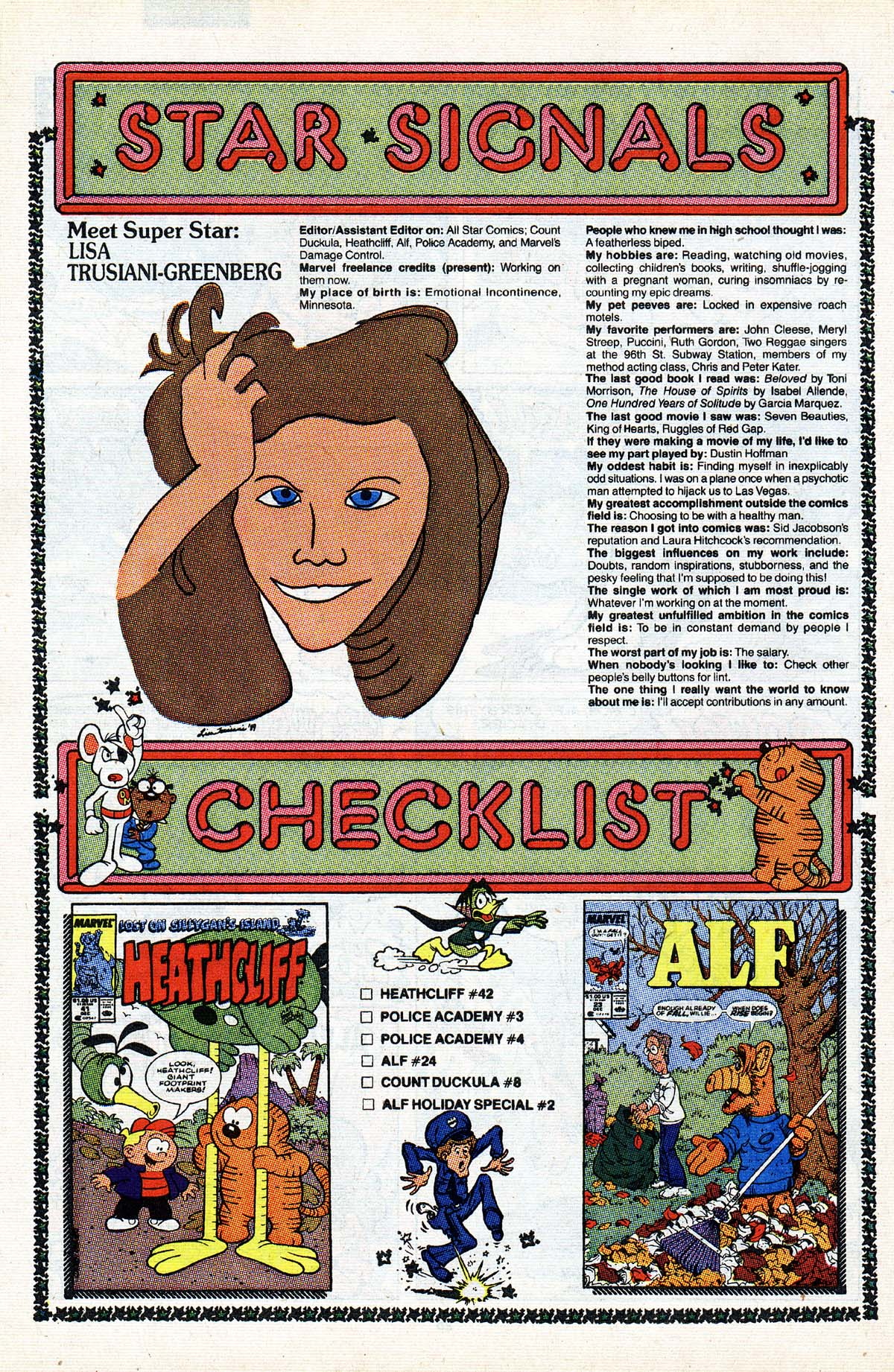Read online ALF comic -  Issue #23 - 21