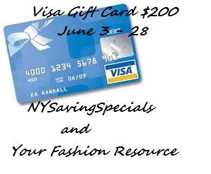 visa gift card $200 giveaway