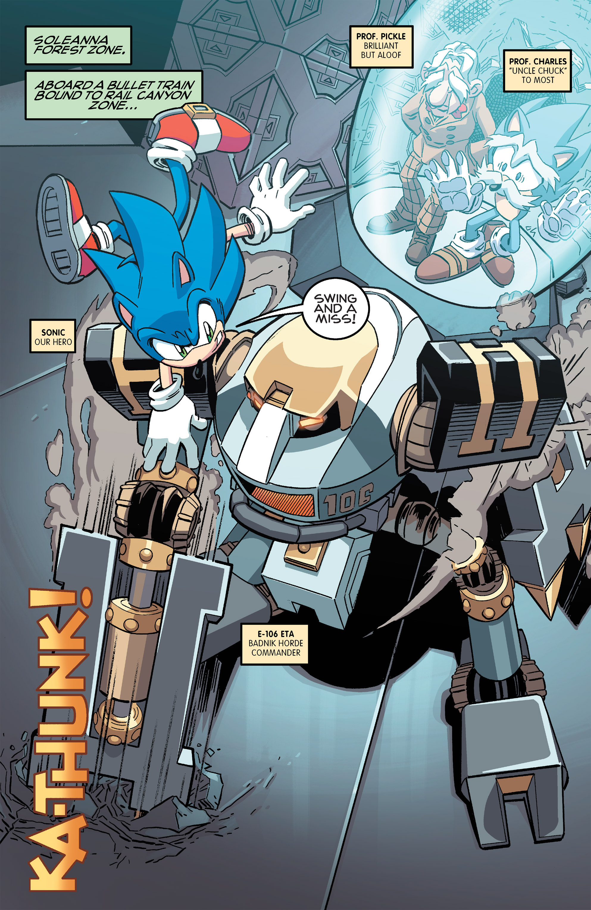 Read online Sonic The Hedgehog comic -  Issue #259 - 3