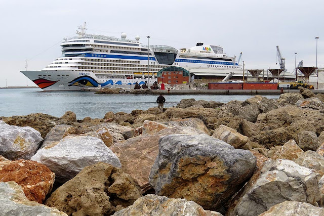 Cruise ship AIDAmar, IMO 9490052, port of Livorno