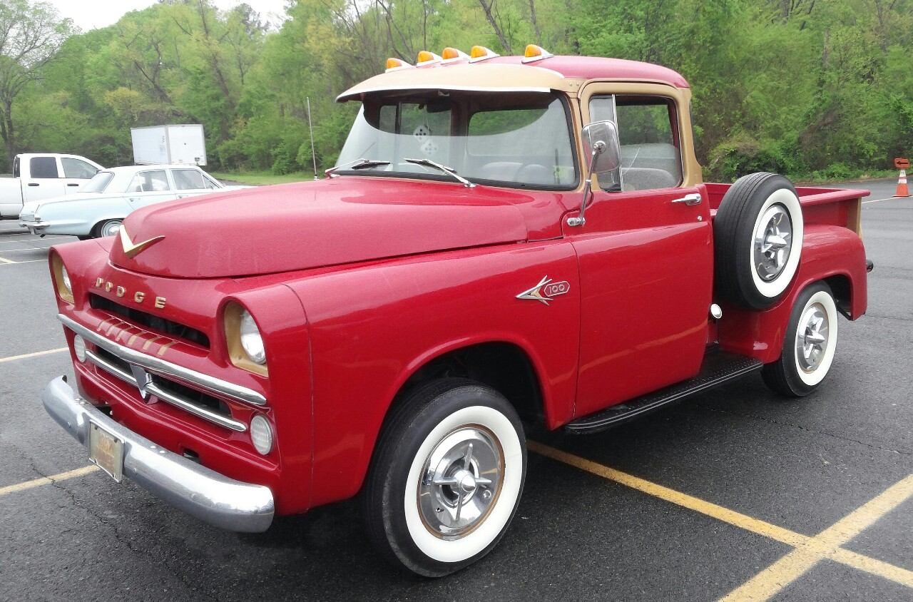 deadly curves dodge lil red express truck from 1957. Cars Review. Best American Auto & Cars Review