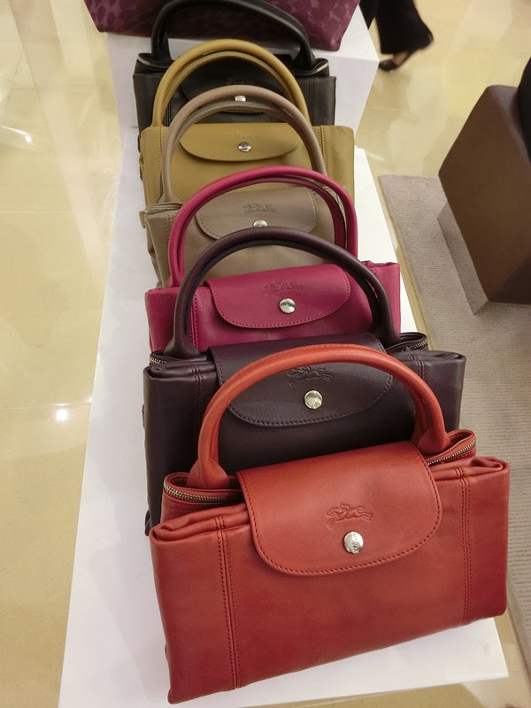 Le Pliage Cuir Line Which Made Of Leather
