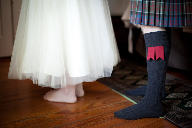 vintage DIY Scottish wedding in Texas
