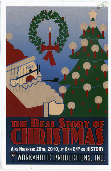Real History Of Christmas.Christmas Tv History The Real Story Of Halloween