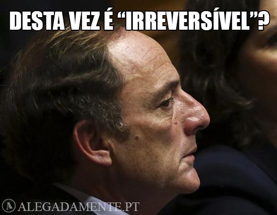 Paulo Portas – Desta vez Irreversível?