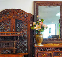 Thailand antiques and interior design.