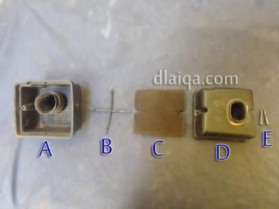 komponen-komponen filter udara