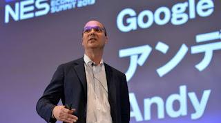 Mantan pejabat Google, Andy Rubin. [AFP]