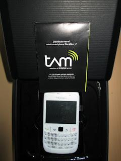 Blackberry Gemini 8520 New Sisa Stok Garansi Resmi TAM