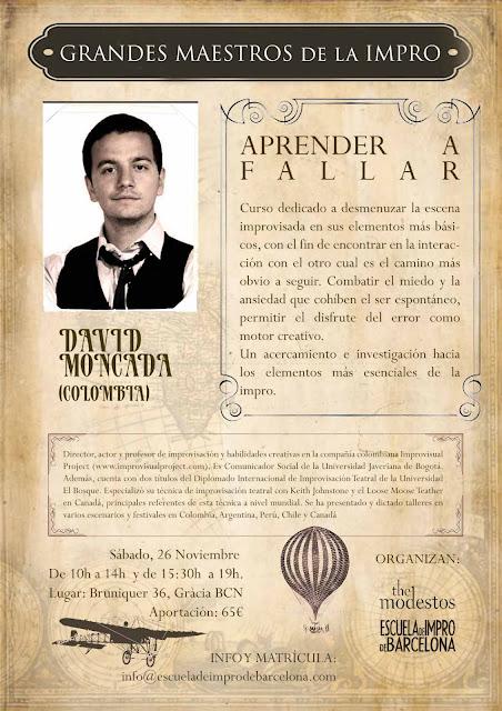 Escuela de Impro de Barcelona - David Moncada