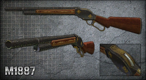 Image result for m1887 point blank