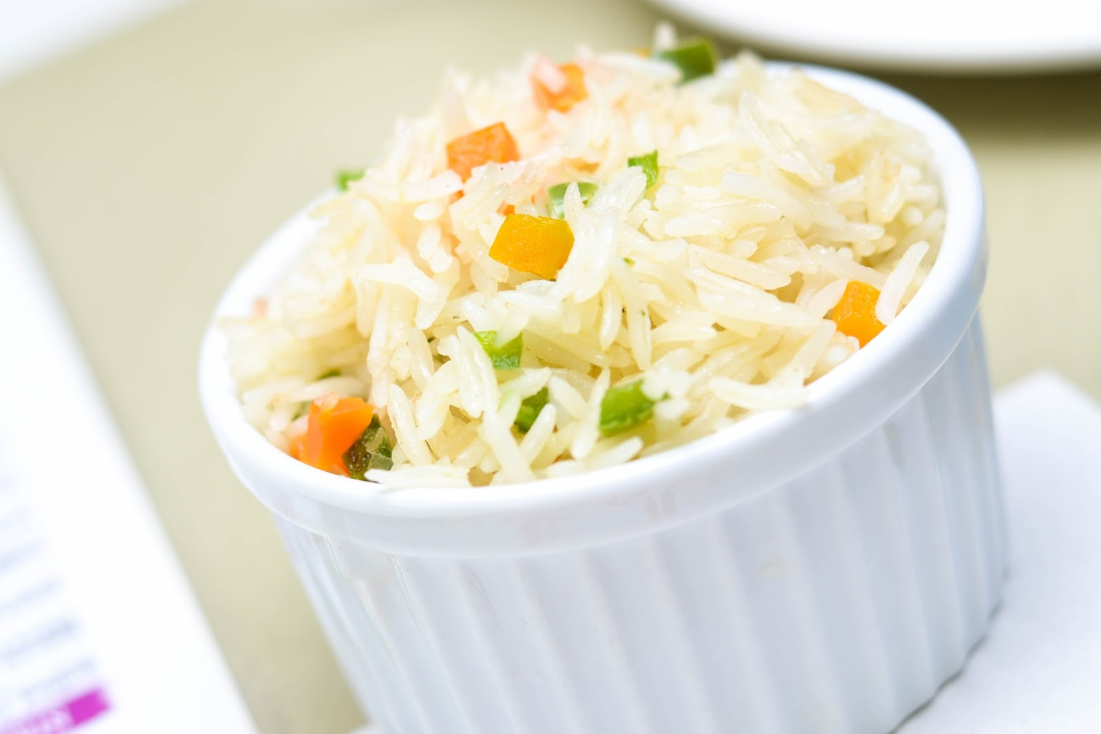 White Rice and Vegetables