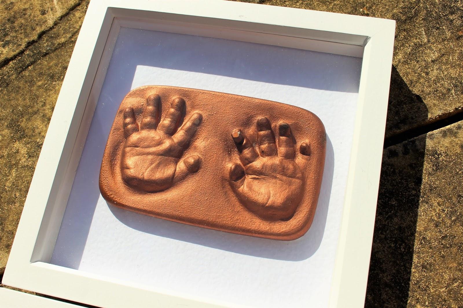 Diy i got phoebes feet hands cast itsjustmehayleyd baby foot and hand castings solutioingenieria Choice Image