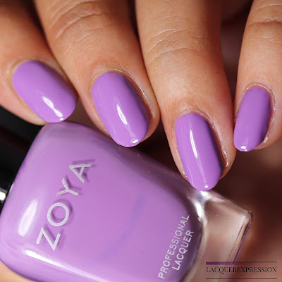 Nail Polish Swatch and Review of Zoya Delia from the Zoya Sunshine Collection for Summer 2018