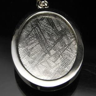 colgante de meteorito gibeon