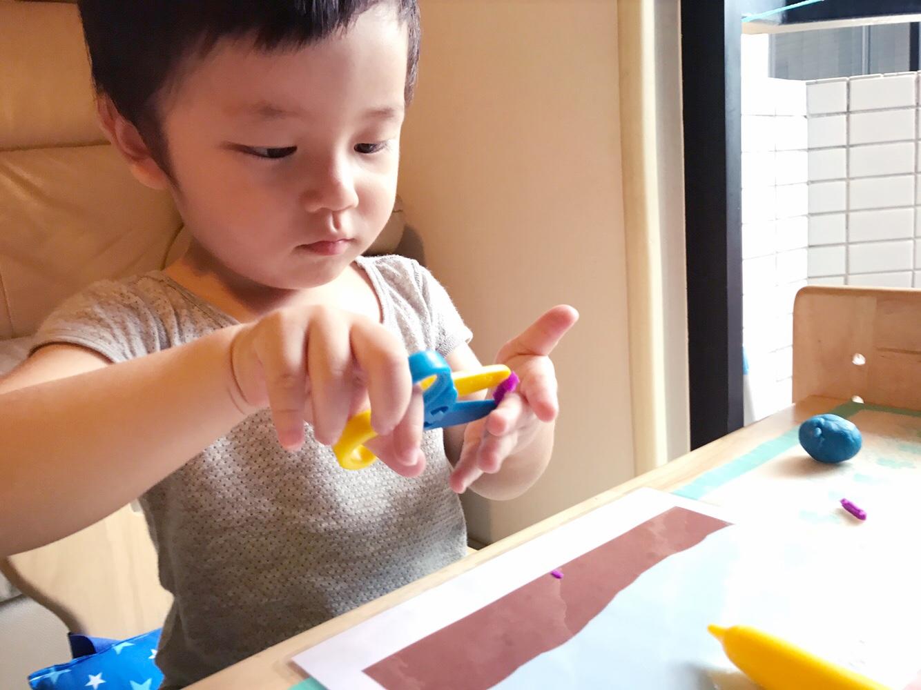 | 幼兒學習 | DIY教學工具分享 -泥膠創意遊戲卡