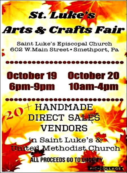 10-19/20 St. Luke's Arts & Crafts Fair