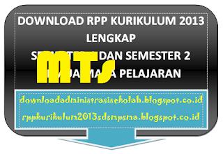 RPP Fiqih Kelas 9 MTs Kurikulum 2013 Lengkap Semester 1 & 2