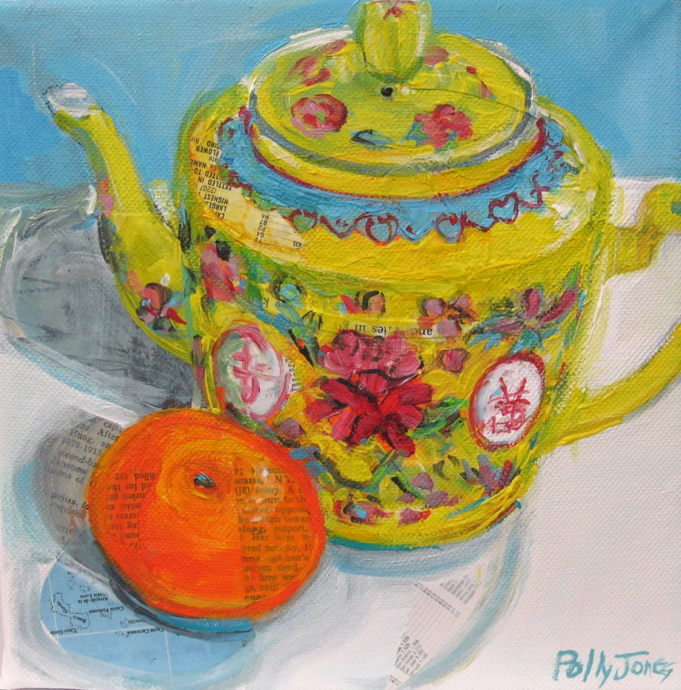 Small Wonders Daily Paintings by Polly Jones: July 2011