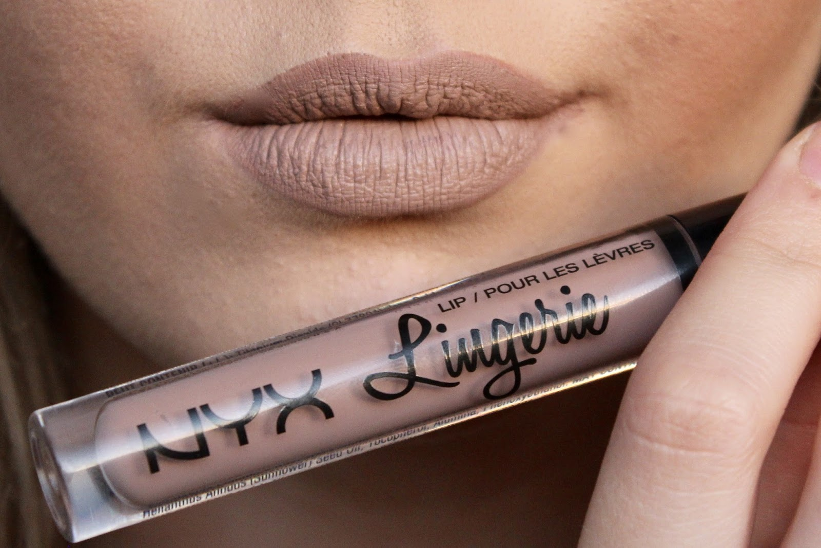 NYX lip lingerie in corset loved by sarah blog