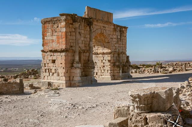 Arco del triunfo de Caracalla, Volubilis