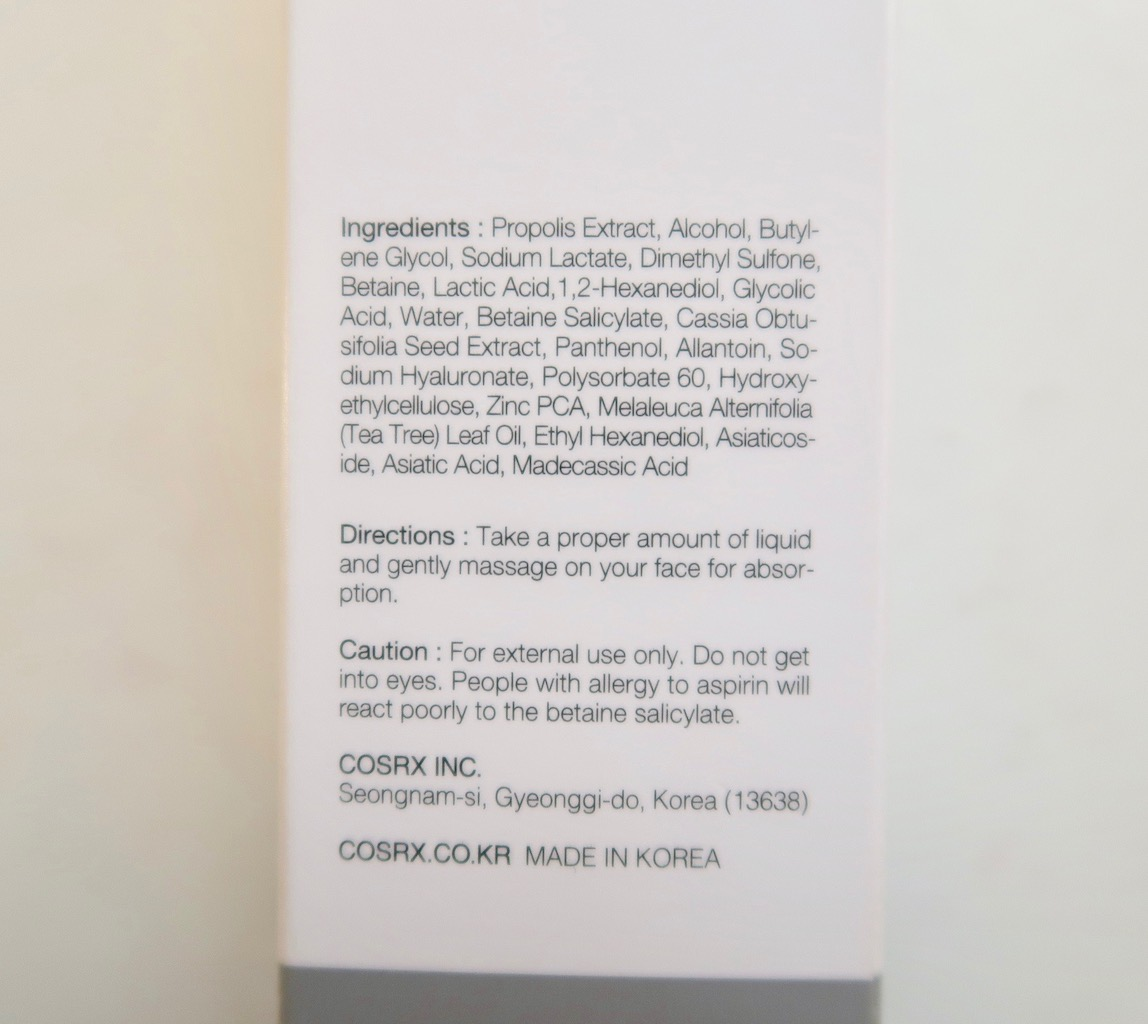 CosRX AC Collection Anti Acne Skin Care: A gentle way to