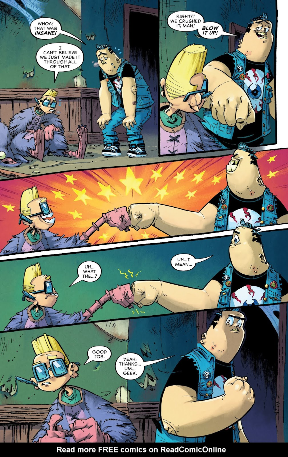 Read online Bully Wars comic -  Issue #4 - 15