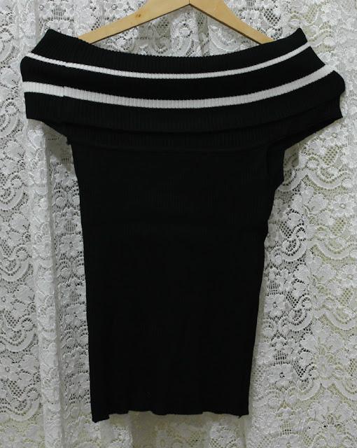 Camiseta cuello de barco