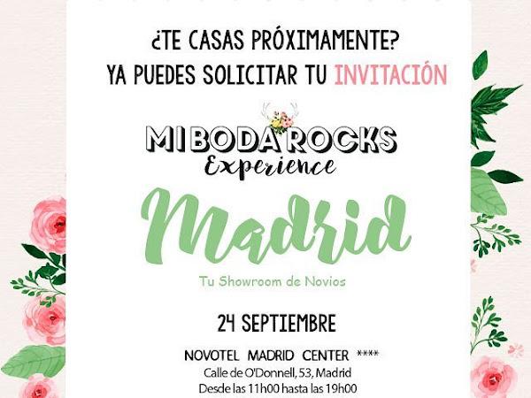 Solicita entrada gratis para Mi Boda Rocks Experience MADRID