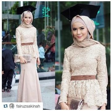 Model Baju Gamis Renda Brokat Baju Muslim