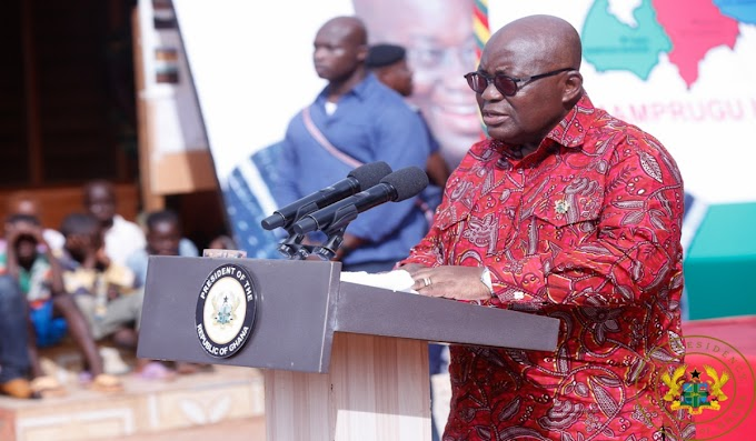 """""""Construction Of Water System For Mamprugu Starts In September"""" – President Akufo-Addo"""