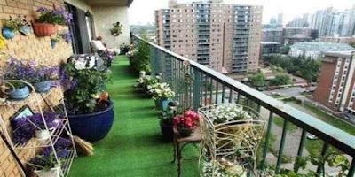 3 Tips Memperindah Balkon