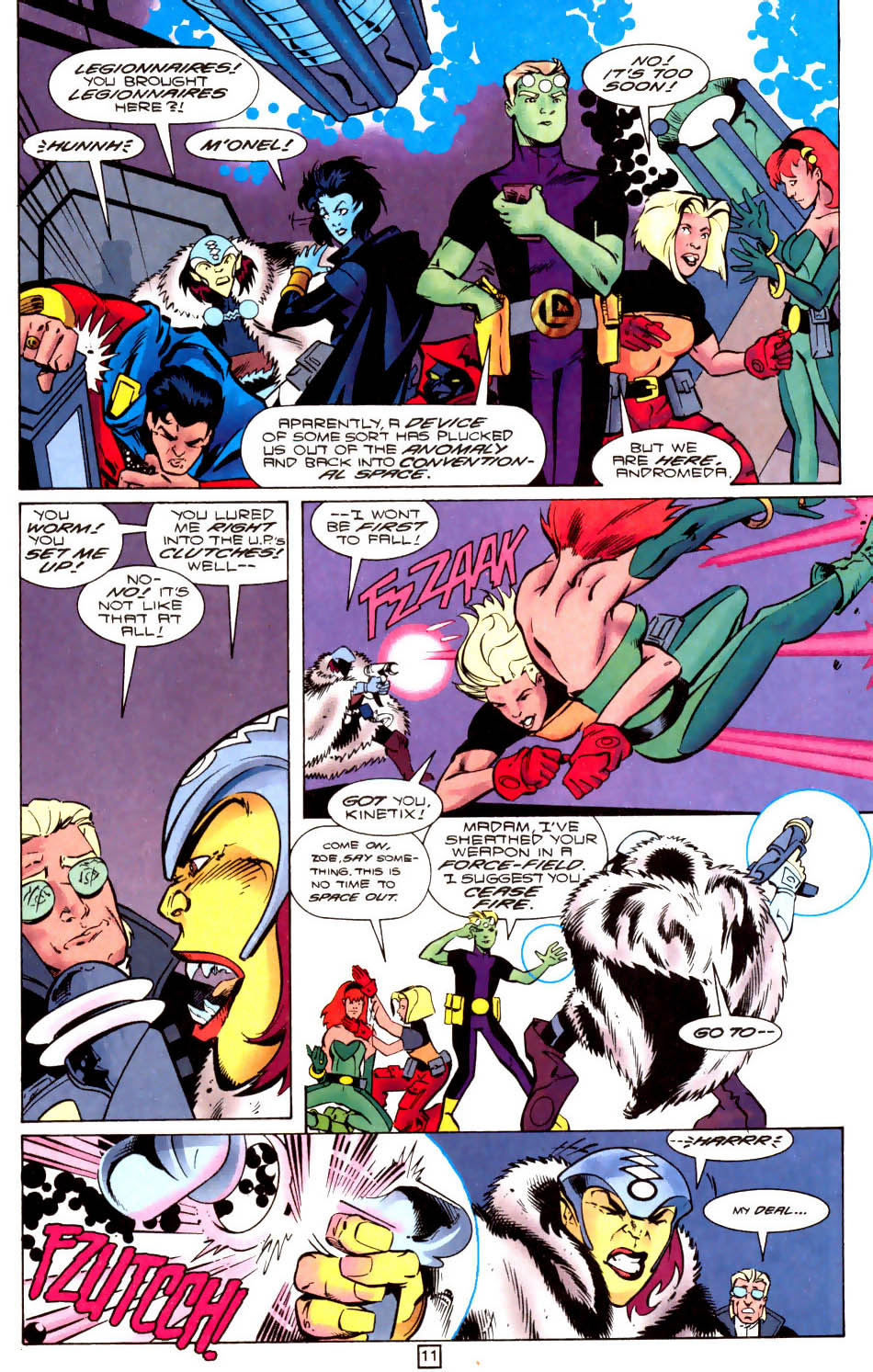 Legion of Super-Heroes (1989) 104 Page 11