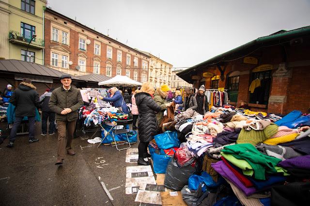 Mercato di Plac Nowy-Cracovia