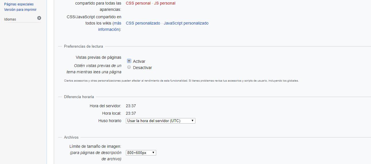 Cómo Activa Las vistas previas de Wikipedia para escritorio