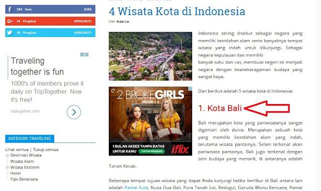 Kota Bali ? Pengetahuan itu Penting Dalam Menulis