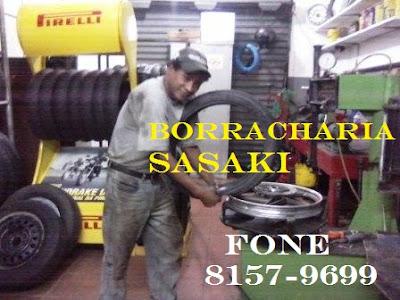 Borracharia do  Sasaki, Gelson 8157-9699 em Registro-SP