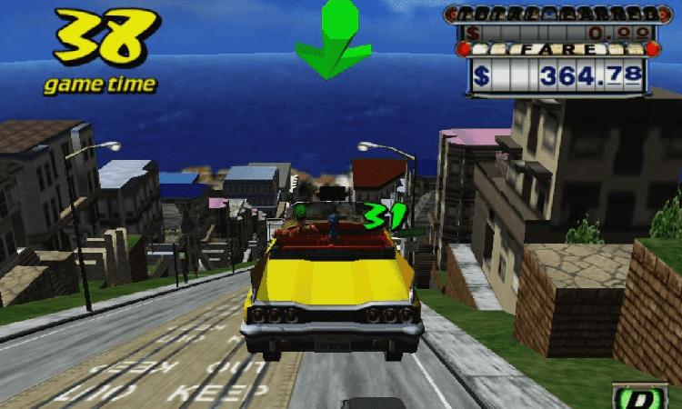 تحميل لعبة Crazy Taxi للكمبيوتر برابط مباشر