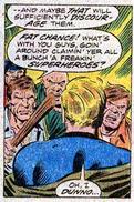 Fantastic Four 169 Johnny Storm